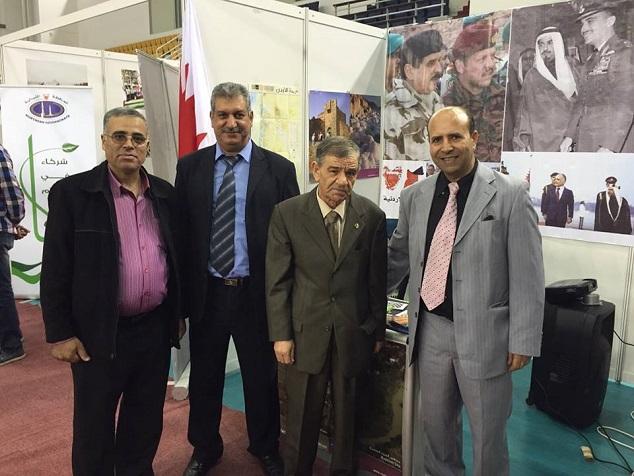 مع السفير الجزائري