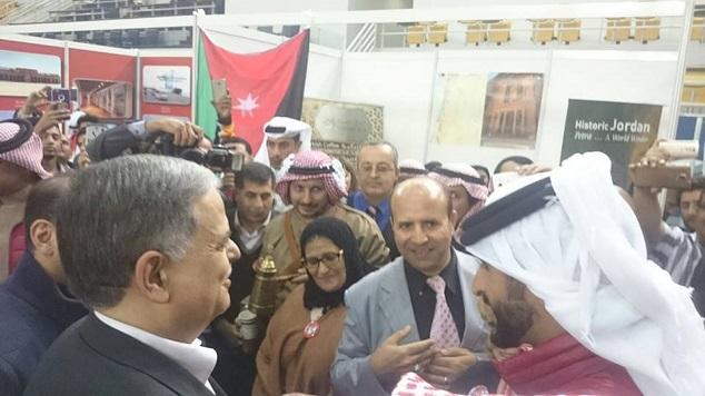 مع الشيخ ناصر و السفير