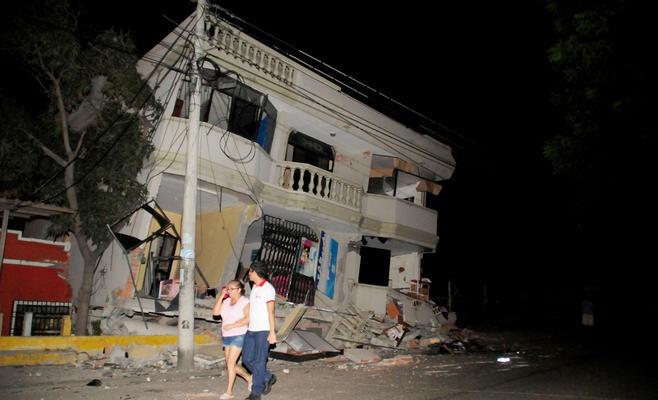 ارتفاع حصيلة الزلزال في الاكوادور لـ 41 قتيلا